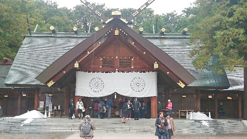北海道神宮_本殿画像