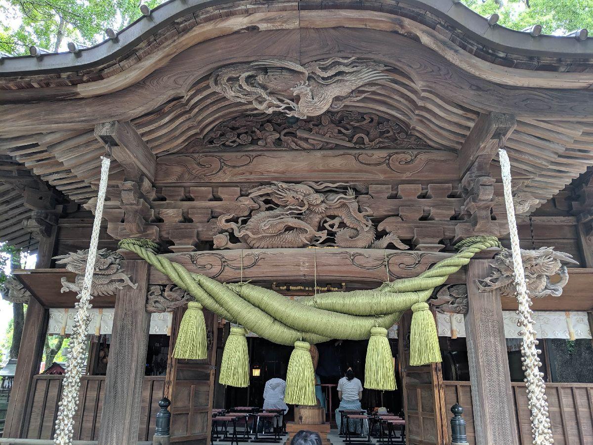 田無神社画像