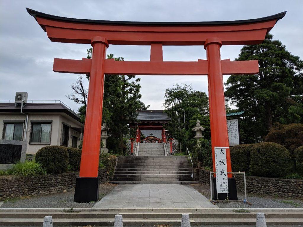 東伏見稲荷神社表参道鳥居