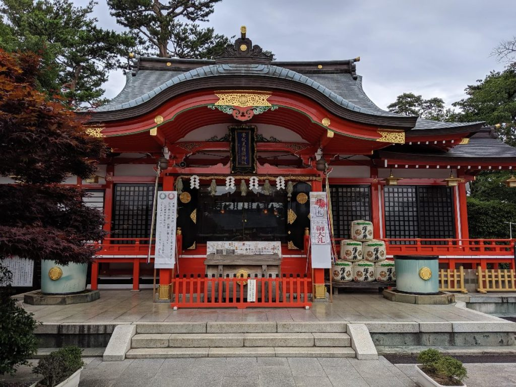 東伏見稲荷神社本殿