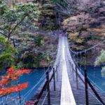 静岡 寸又峡の「夢の吊り橋」は想像を超えてきた!なかなかのスリルを静岡で体験!