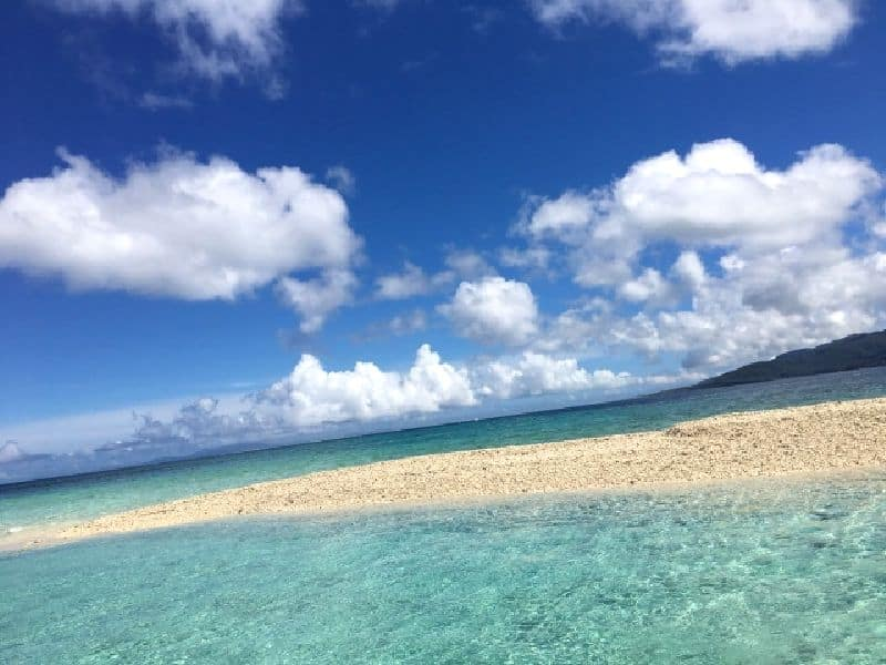 鳩間島-浜