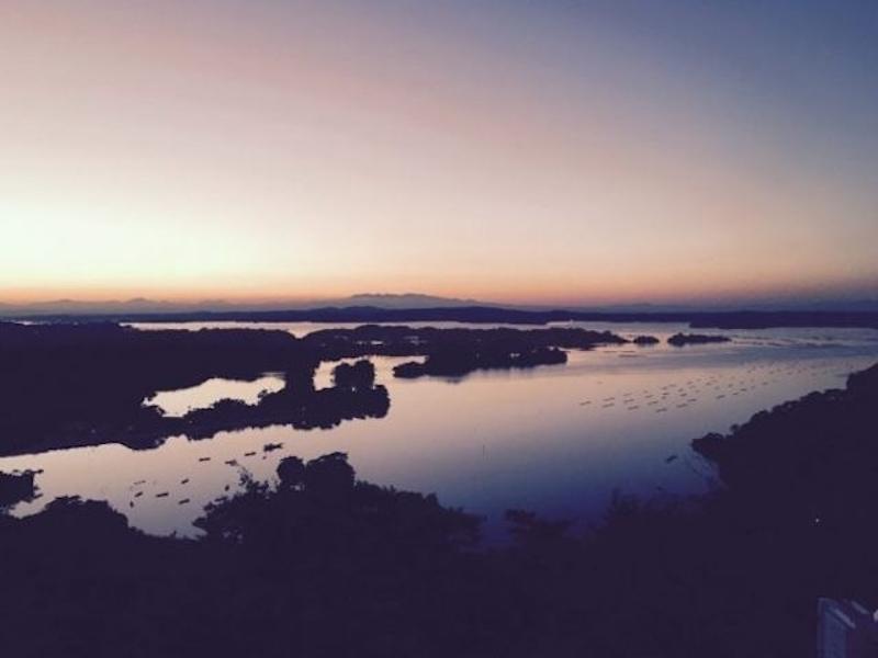 松島日の出が画像