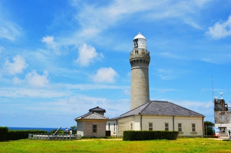 角島灯台公園
