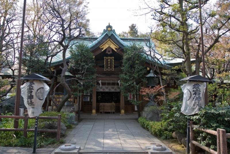 愛宕神社本殿画像