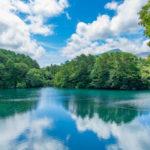 福島五色沼は新緑も紅葉も最高!自然探勝路を歩き水面の景色を堪能