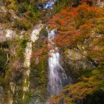 大阪府 箕面公園の滝と自然は年中無休!!