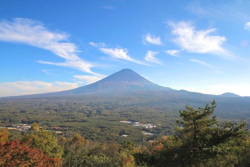 紅葉台_富士山遠景