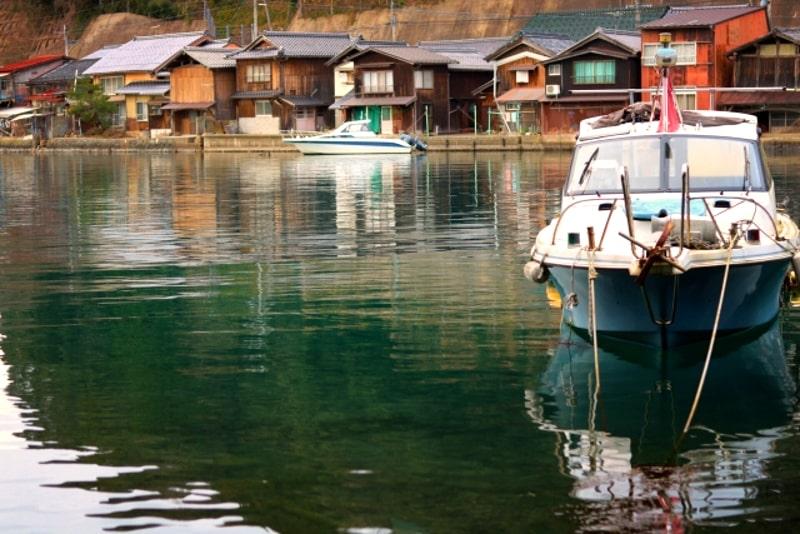 伊根の舟屋遊覧船
