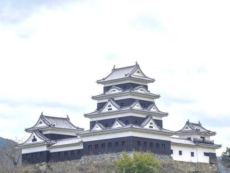 大洲城画像
