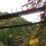 熊本 八代観光は五家荘で渡るドキドキの吊り橋!新緑・紅葉・キャンプも最高