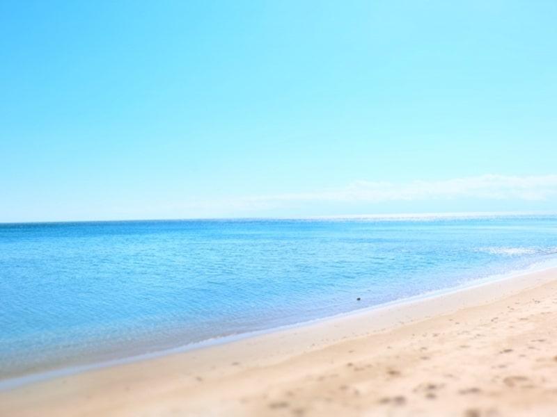 雨晴海岸渚