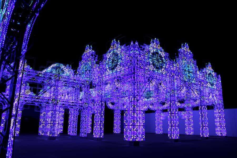 青の宮殿 ラグーナテンボス