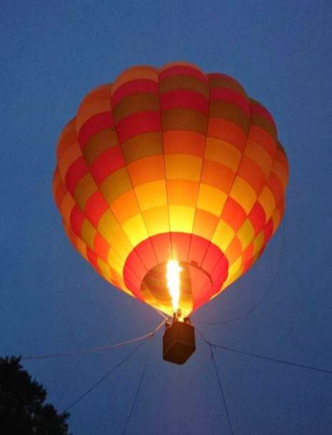 さがみ湖イルミリオン_光の熱気球