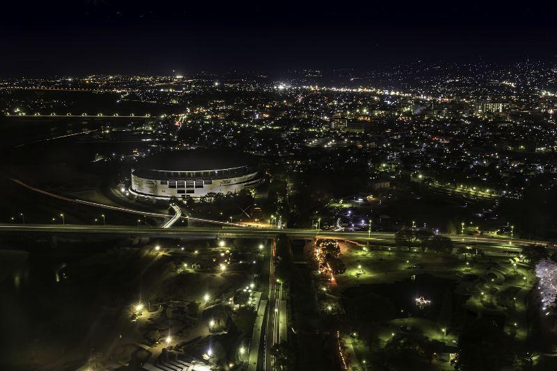 群馬県庁_夜景
