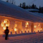 2021年の雪旅籠の灯りは宿泊者限定!月山志津温泉での開催情報