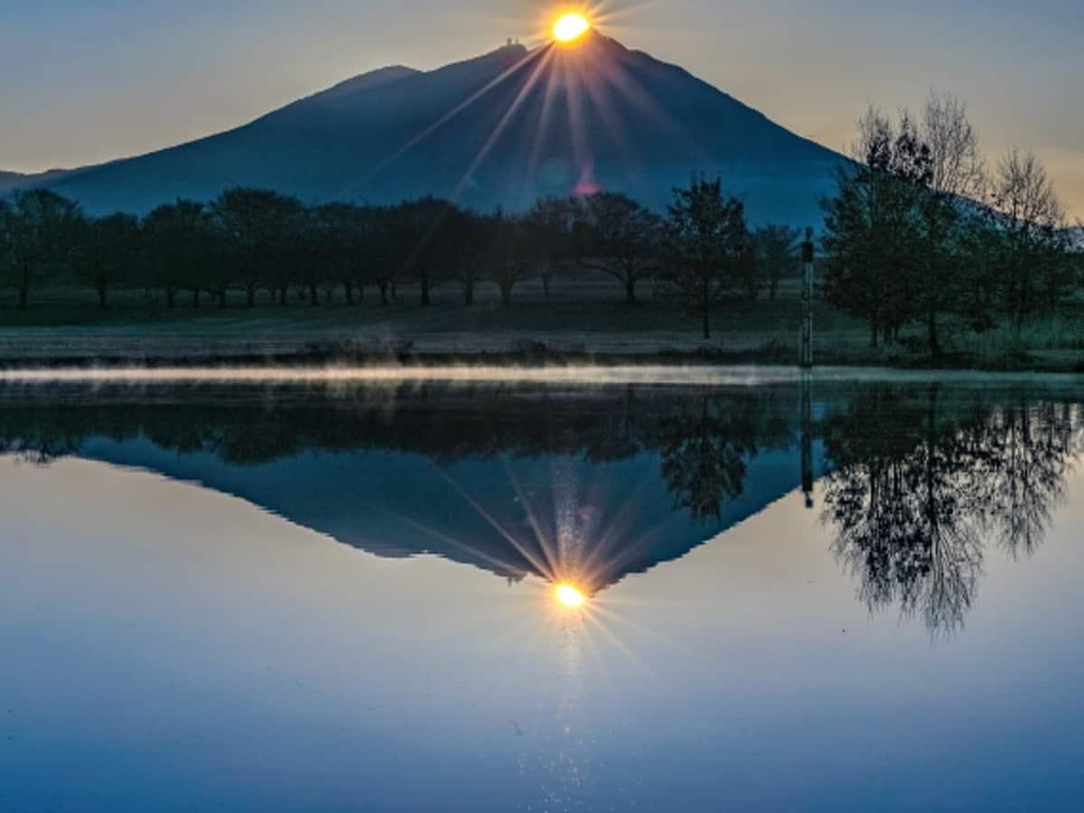 筑波山画像
