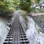 神奈川の秘境に吊り橋を渡りに行く!富士山も桜も楽しめるそこは山北町!