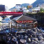 修善寺温泉を象徴するスポット『独鈷の湯(とっこのゆ)』(入浴・足湯は禁止)