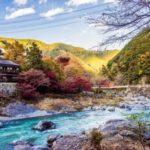 青梅市『御岳渓谷』は夏は水遊び、秋は紅葉狩り、美術館巡りが楽しめる!