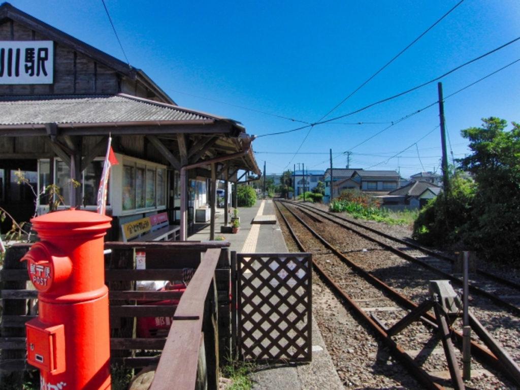 外川駅画像
