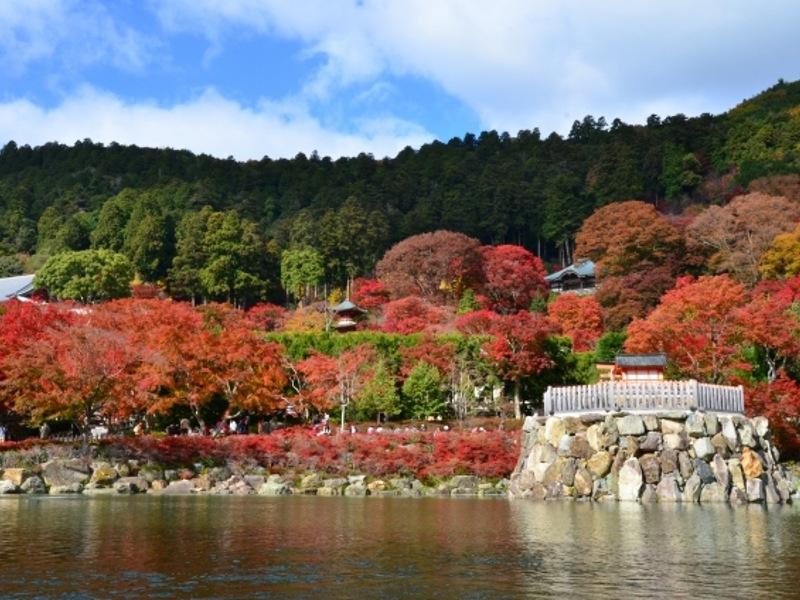 勝尾寺遠景画像
