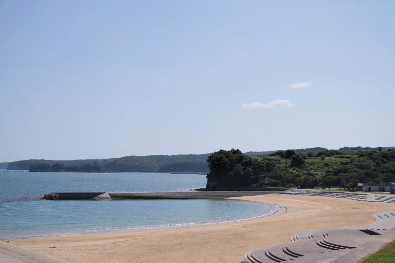 長崎鼻_海水浴場