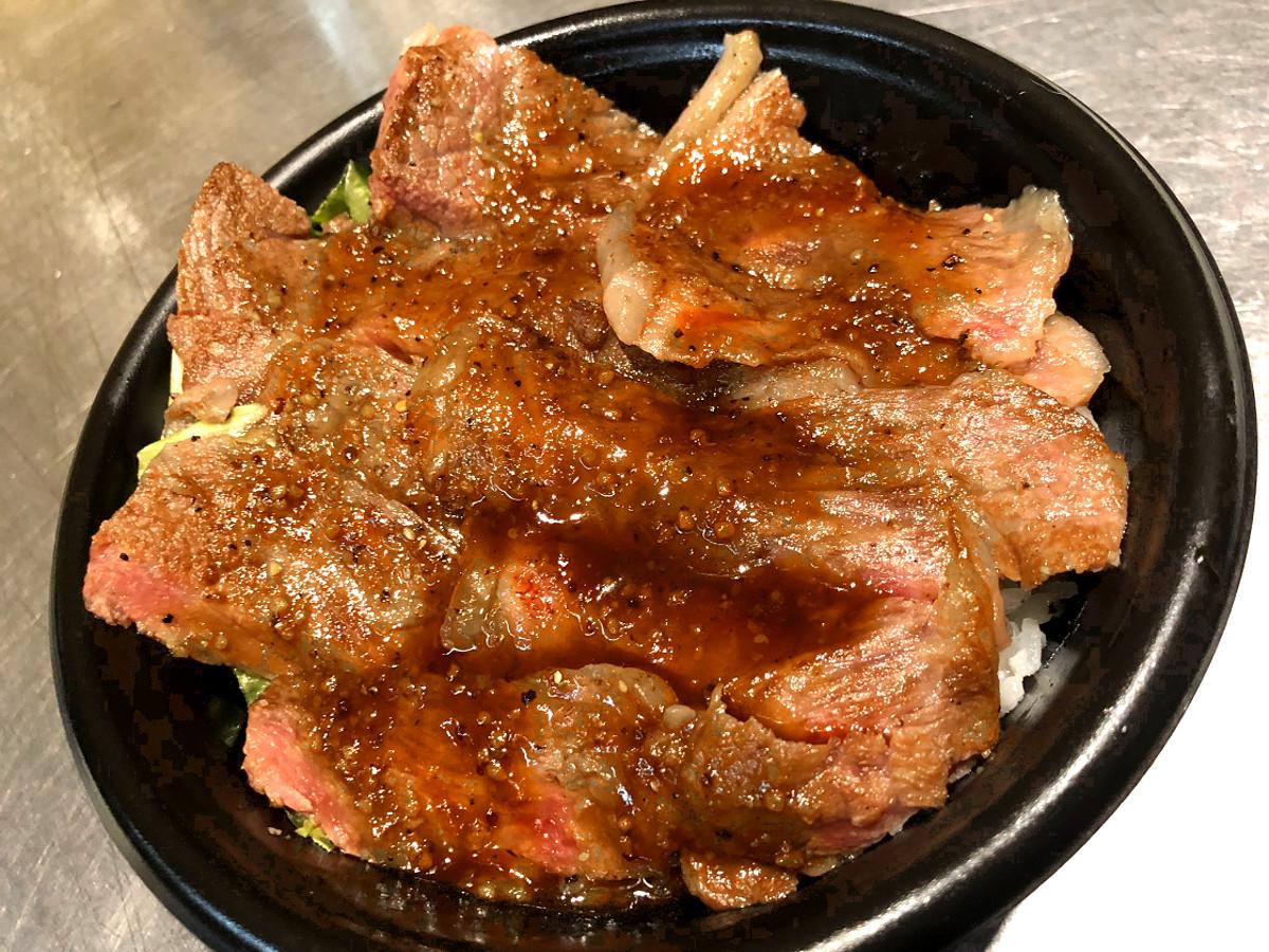 つくばグルメフェス黒毛和牛丼