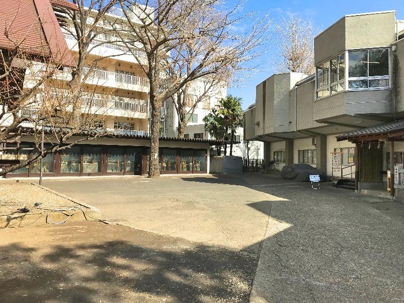 高円寺氷川神社_駐車スペース