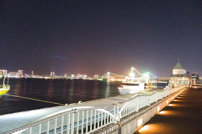 竹芝桟橋_2階デッキ