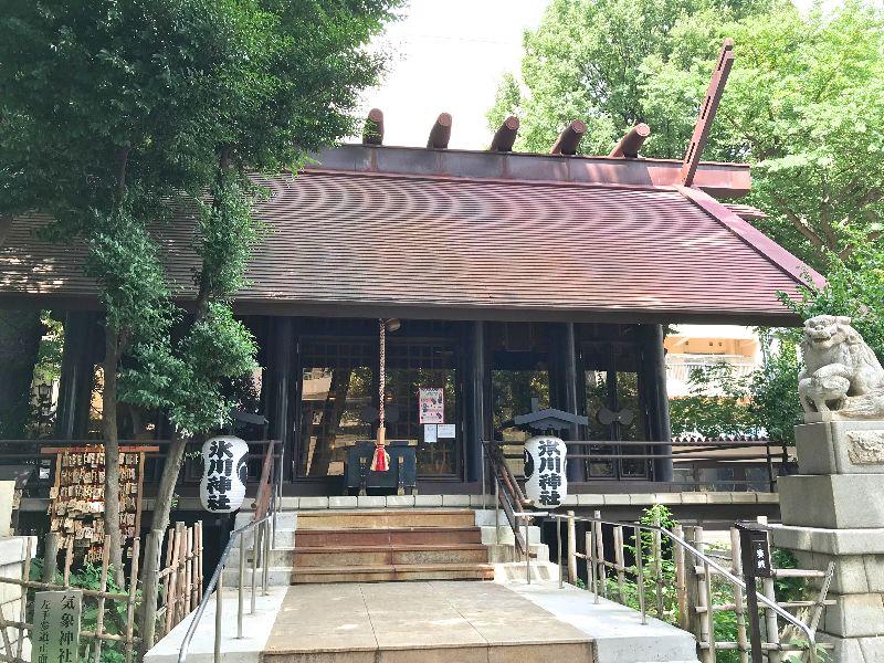高円寺氷川神社本殿