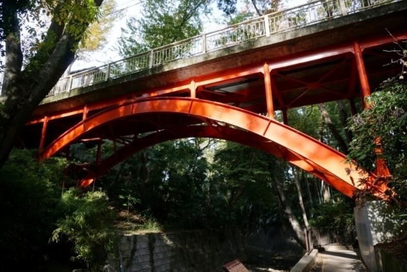 等々力渓谷_ゴルフ橋
