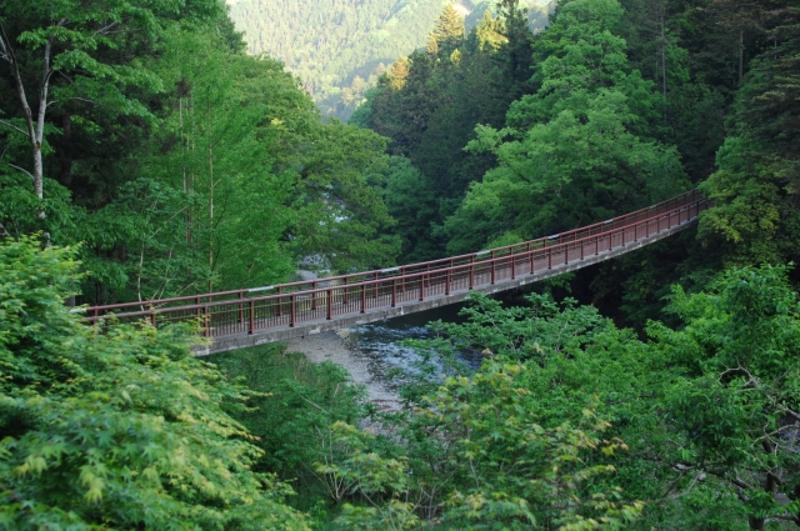 秋川の橋画像