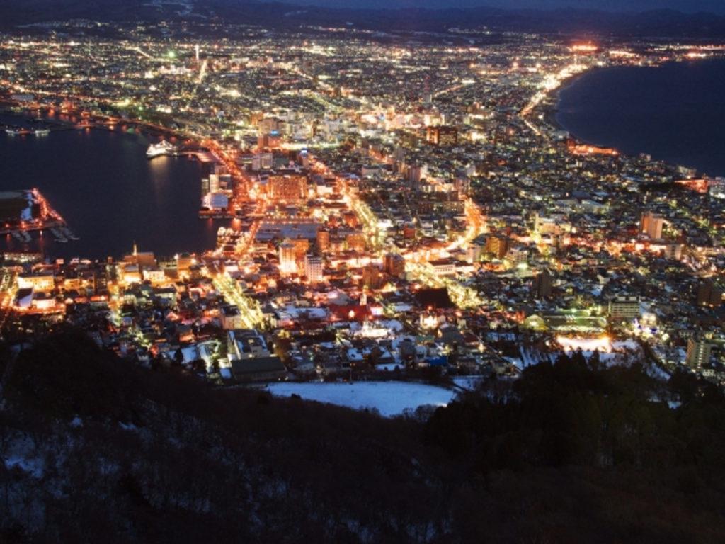 函館の夜景画像