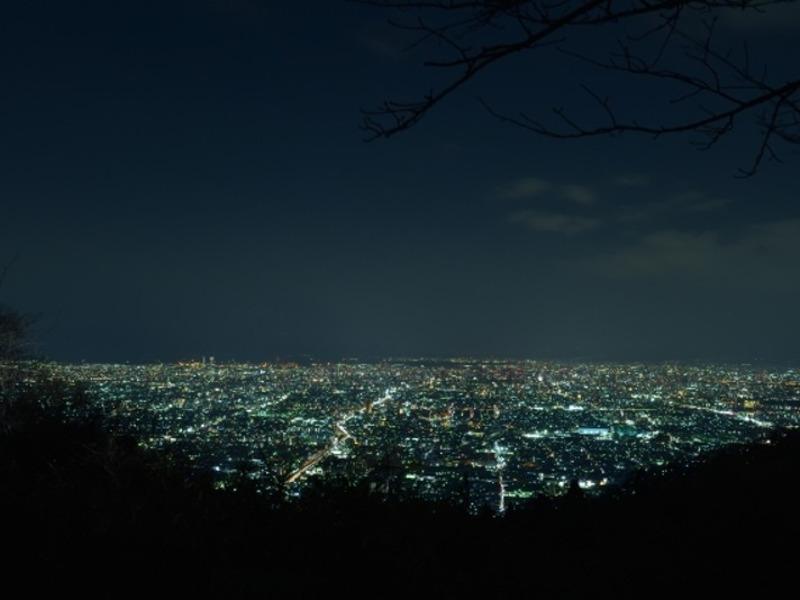 生駒山夜景画像