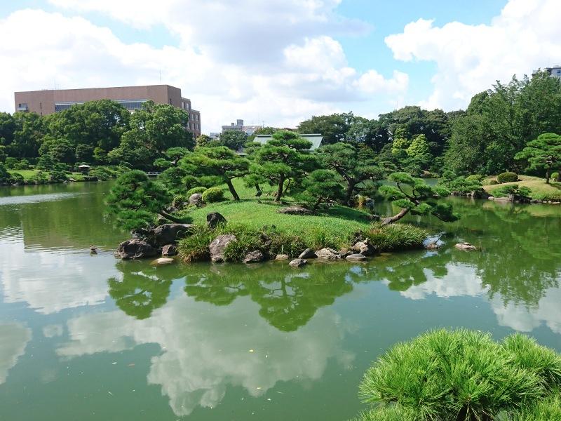 清澄庭園池の画像01