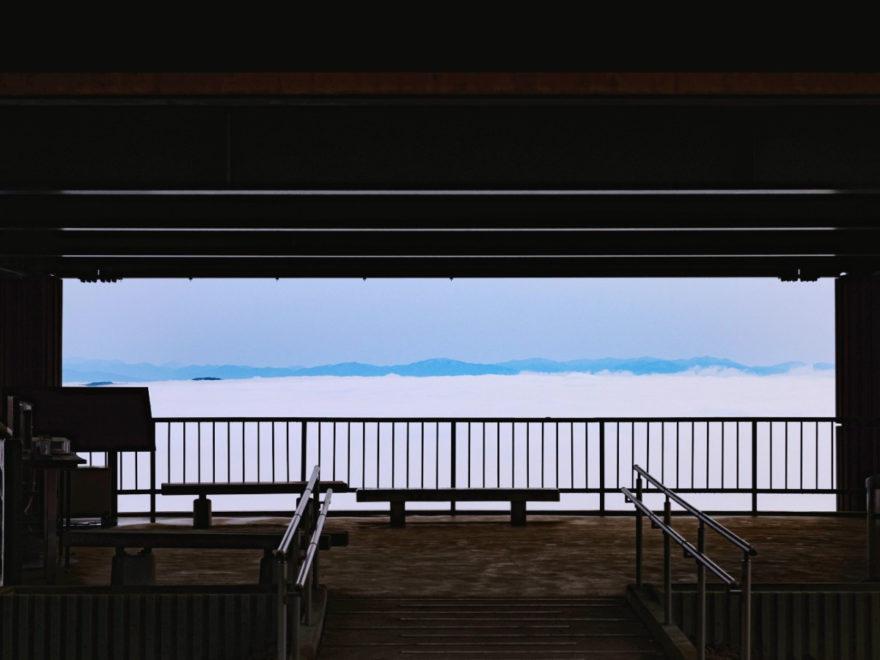 高谷山展望台1階_雲海