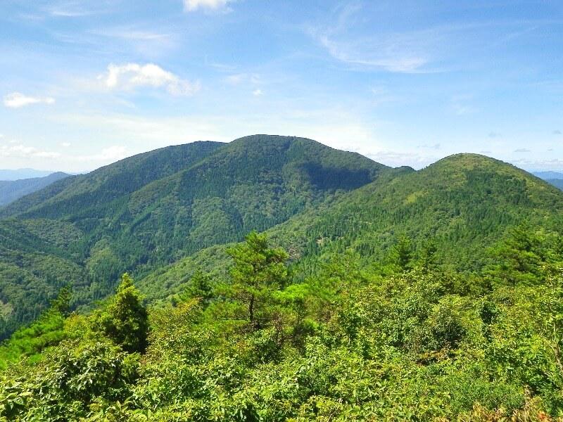 大江山_千丈ヶ嶽と鳩ヶ峰