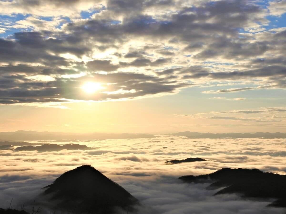 大江山雲海画像