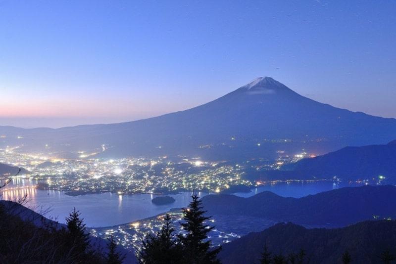新道峠夜景