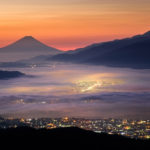 高ボッチ高原へ山道をドライブ!雲海+星空+夜景の絶景フルコンボ