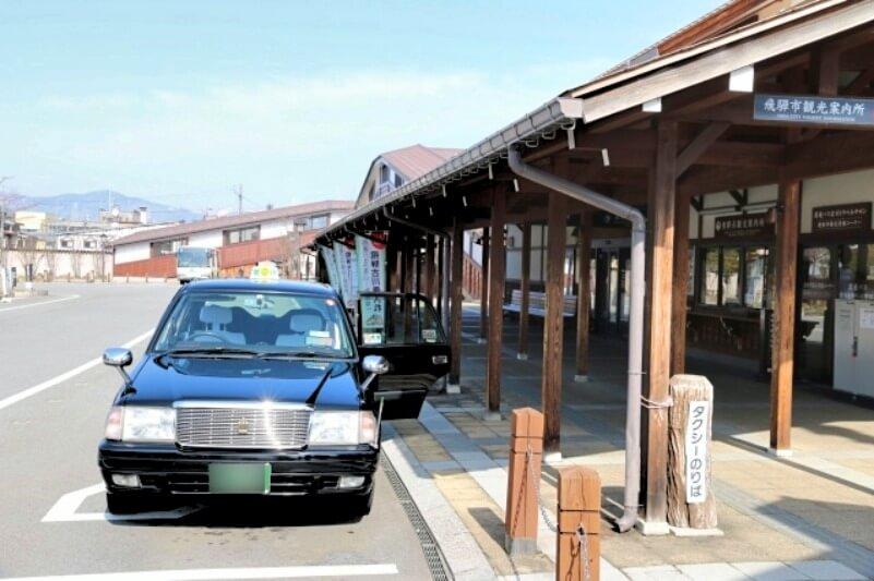 飛騨古川駅_ロータリー