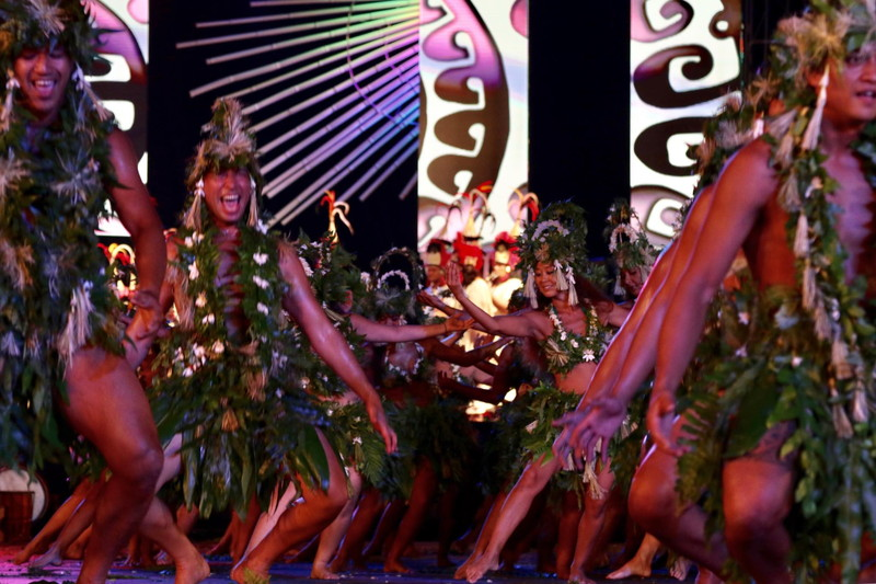 Thahiti Festa ダンス