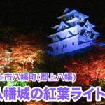 郡上八幡城(岐阜) | 2020年紅葉ライトアップ・見頃情報