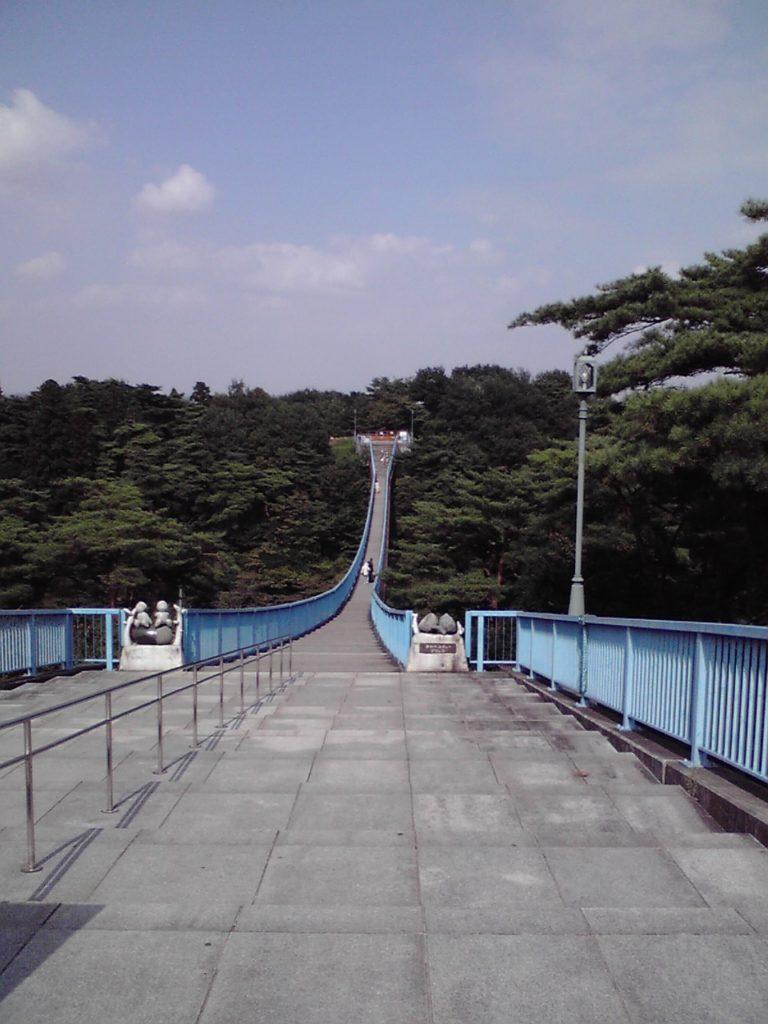 吊り橋・八幡山公園