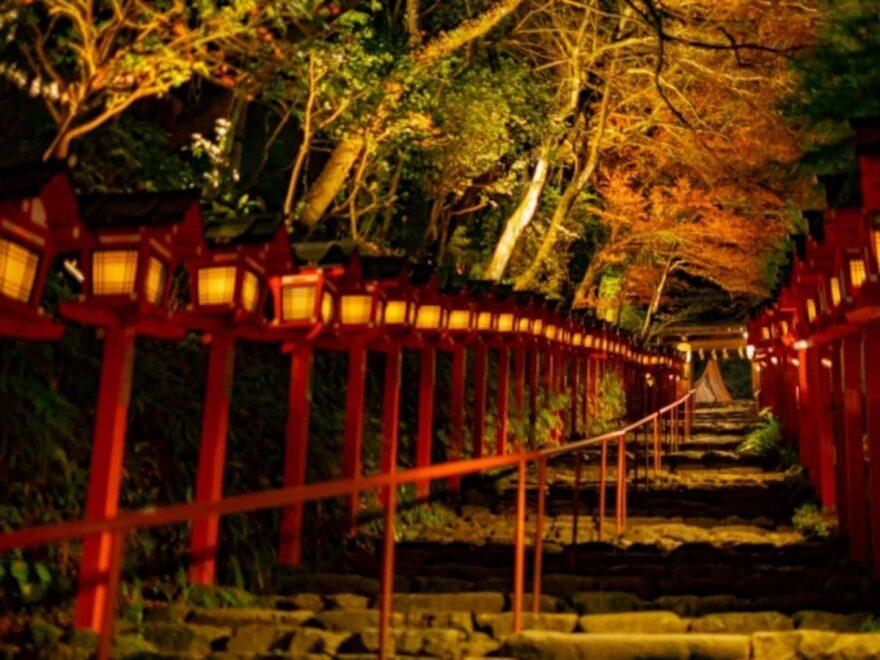 貴船神社(京都) | 2021年紅葉ライトアップ・見頃情報