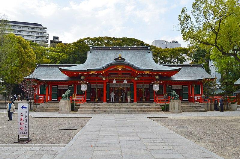 生田神社_社殿