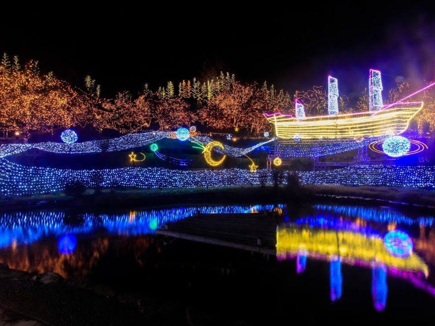 国営備北丘陵公園(岡山) | 2018年イルミネーション情報