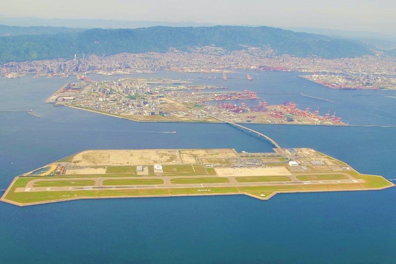 神戸空港全景