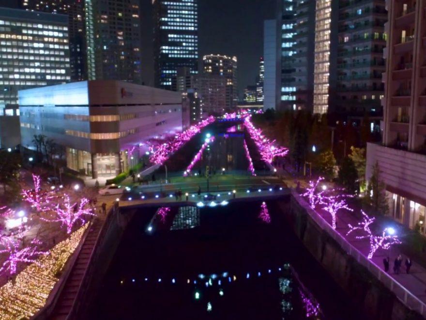 品川区立五反田ふれあい水辺広場・目黒川沿道(東京) | 2018年イルミネーション情報